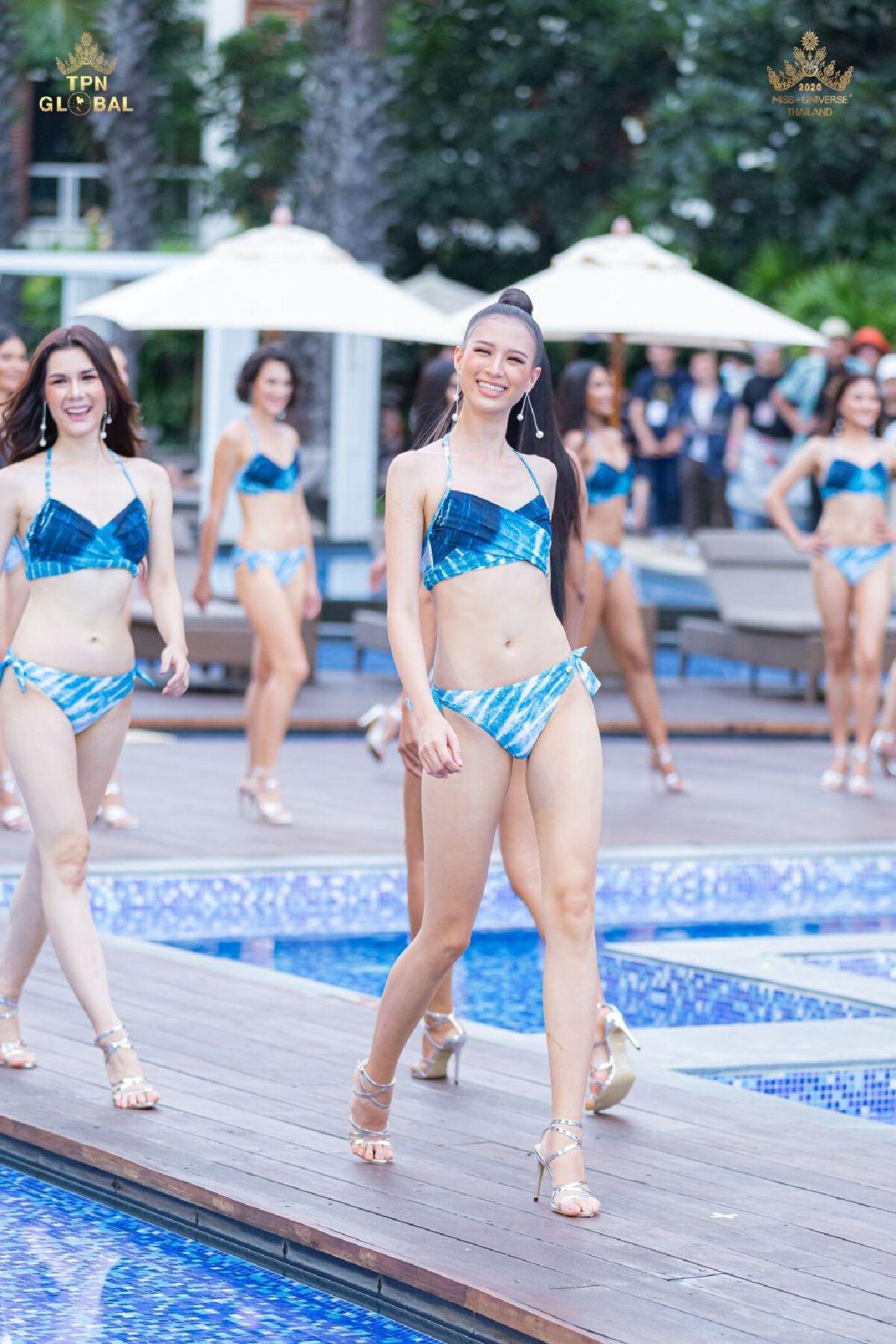 มิสยูนิเวิร์สไทยแลนด์ 2020 รูปชุดว่ายน้ำ Miss Universe Thailand 2020