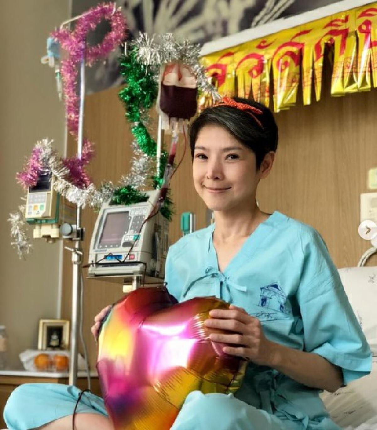 นิ้ง กุลสตรี เผยอาการป่วย พบค่าเม็ดเลือดขาวต่ำเหลือ 900