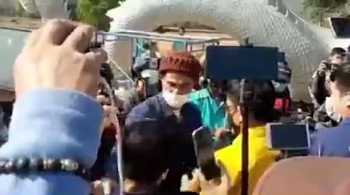 โซเชียลแห่แชร์คลิปนาที ลุงพล หัวร้อน แย่งไมค์นักข่าว