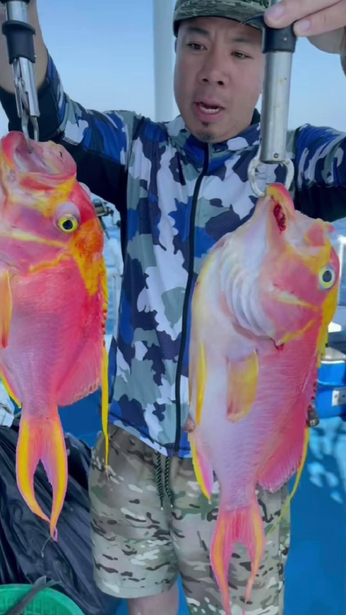 ดีเจภูมิ ชี้แจงดราม่าตกปลาสีสันสวยงาม ชาวเน็ตแซะควรอนุรักษ์ไม่ควรกิน