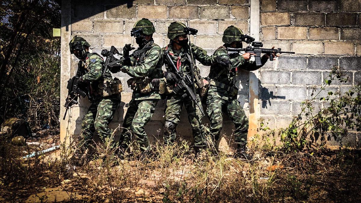 ภาพจาก ศูนย์ประชาสัมพันธ์กองทัพบก Army PR Center