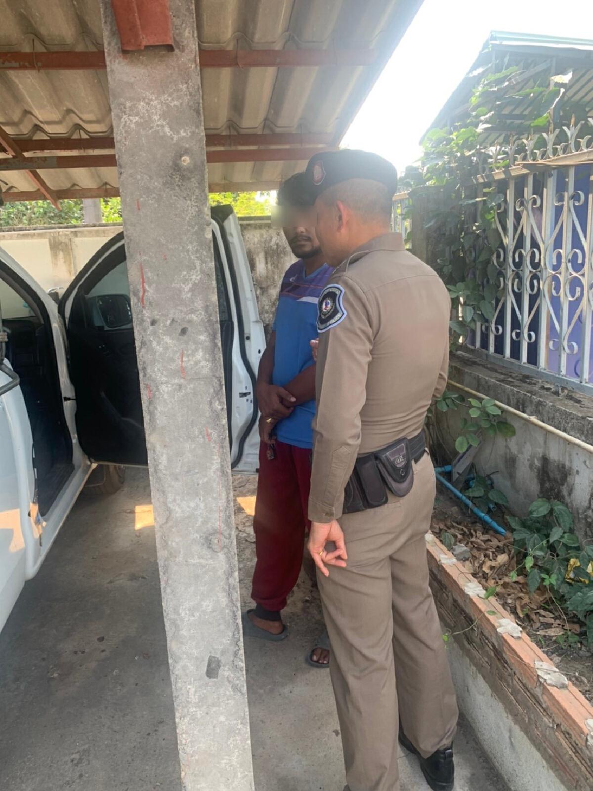 กระบะทำซ่า ชักปืนปลอมออกนอกรถ สุดท้ายเจอ ตอ คู่กรณีเป็นตำรวจตามถึงบ้าน