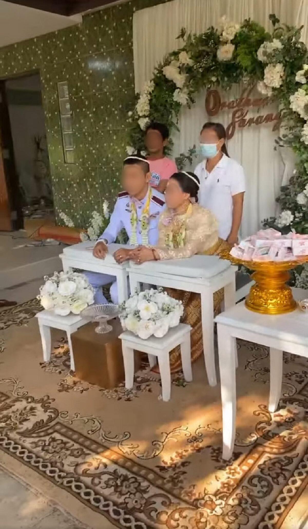 เดือดจัด! ภรรยาถือทะเบียนสมรส บุกงานแต่งรอบสองสามีกับหญิงคนใหม่