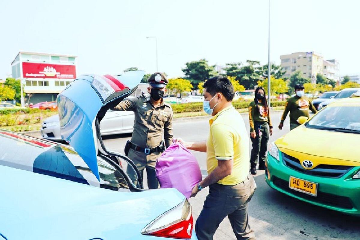 บิณฑ์ บรรลือฤทธิ์ แจกเงินสดส่วนตัว 2 แสน ช่วยเหลือคนขับรถแท็กซี่