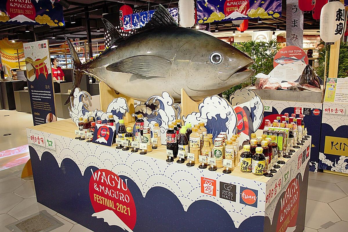 อะซุกะฟู้ดส์ผนึกเซ็นทรัลเสิร์ฟเนื้อวากิว-ปลามากูโระพรีเมียมเจาะคนไทย