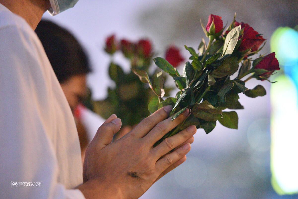 """ขอความรักครั้งใหญ่ พิธีบวงสรวง """" พระตรีมูรติ """""""