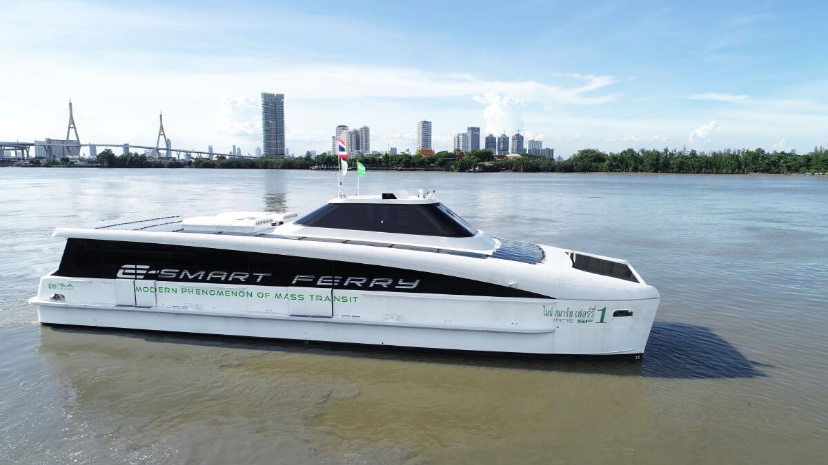 MINE Smart Ferry ขยายเวลานั่งฟรีถึง 30 เม.ย. เที่ยวทริปพิเศษไหว้พระทำบุญ