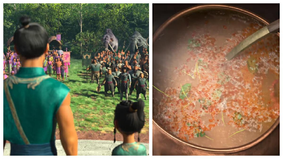 Raya and the Last Dragon food