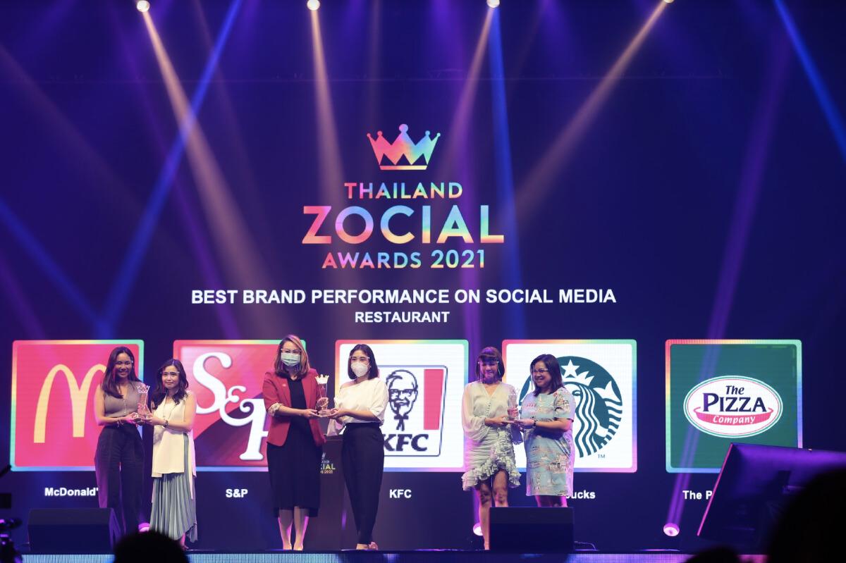 รวมลิสต์คนดังจากโซเชียลที่ได้รับรางวัล THAILAND ZOCIAL AWARDS 2021