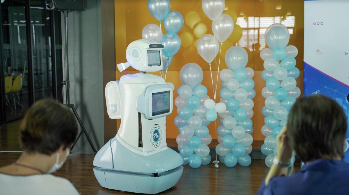 อยู่บ้านนั่งดู FIBO สถาบันผลิตหุ่นยนต์ของคนไทยแบบ Virtual