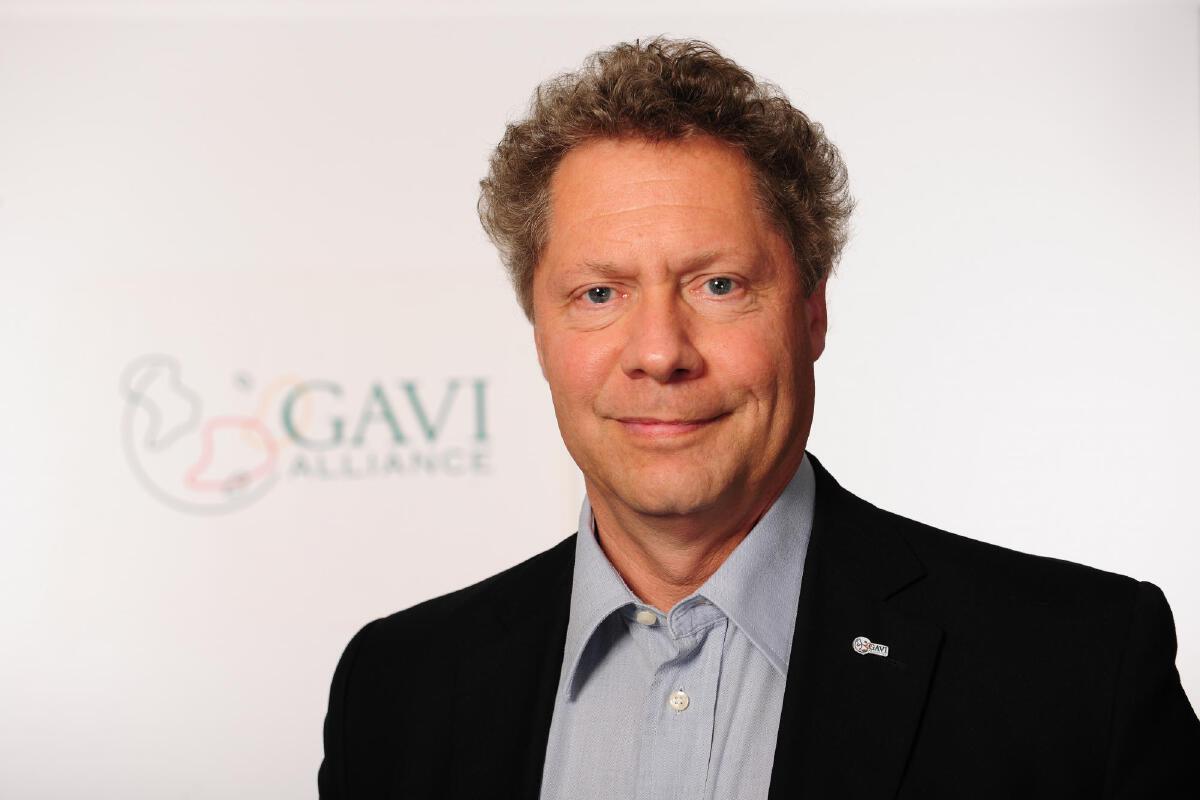 Gavi CEO Dr.Seth Berkley