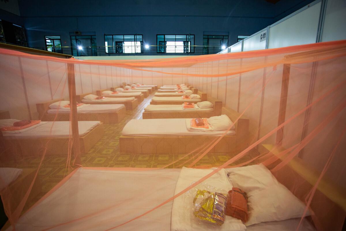 โรงพยาบาลสนามของกทม.เขตบางบอน