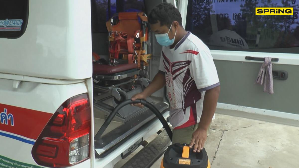 บริการล้างรถกู้ชีพ-กู้ภัย ฟรี