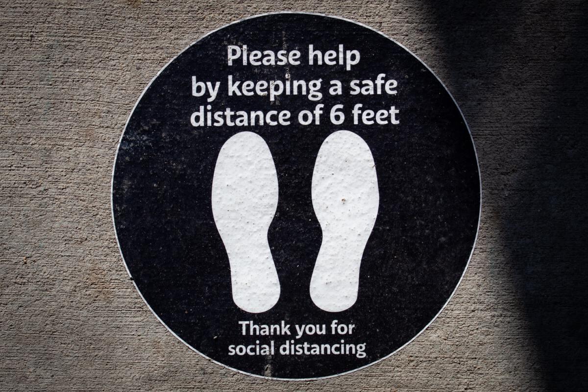 social distancing usa โควิด