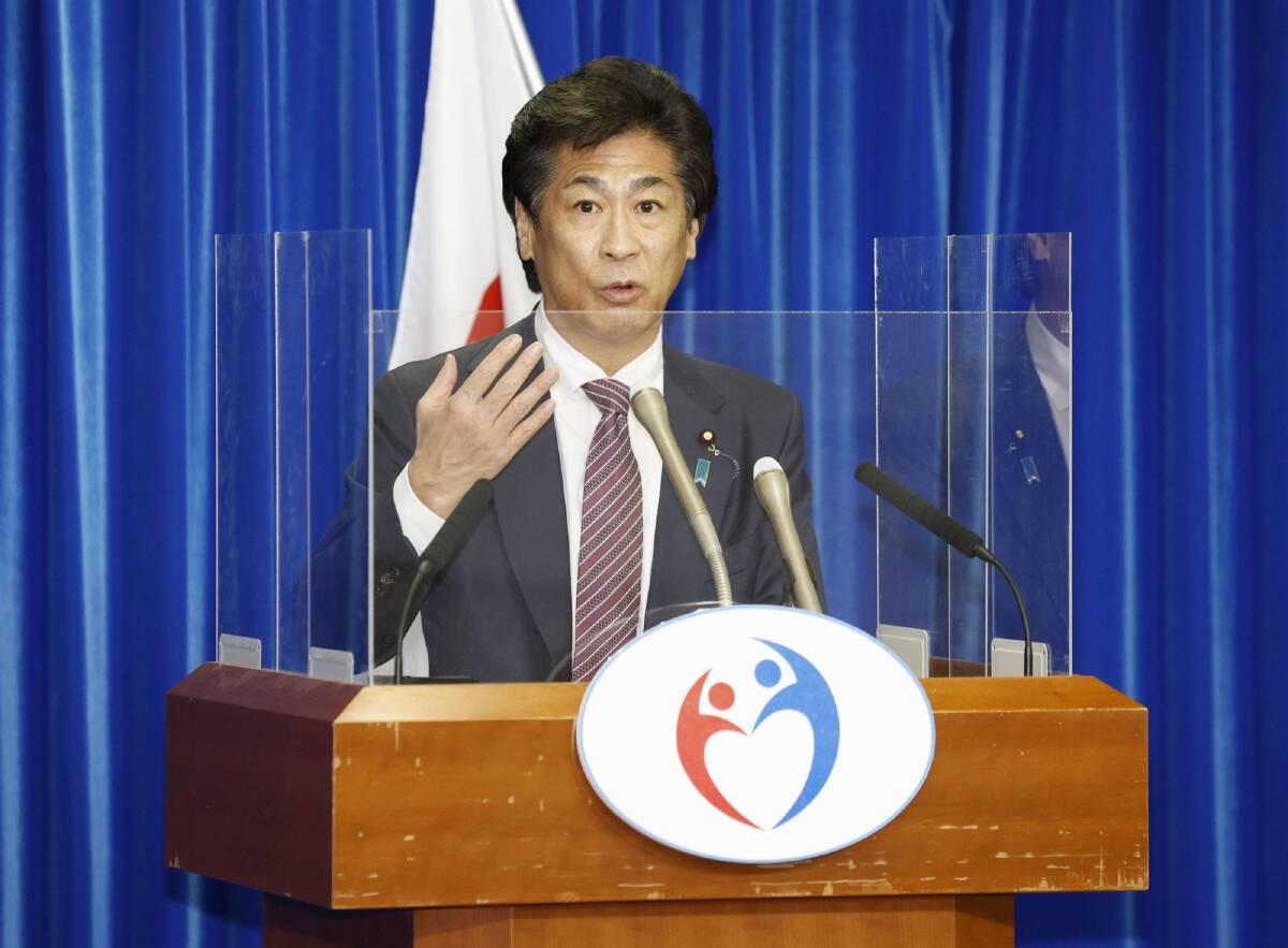 โนริฮิซะ ทามูระ รัฐมนตรีสาธารณสุขญี่ปุ่น