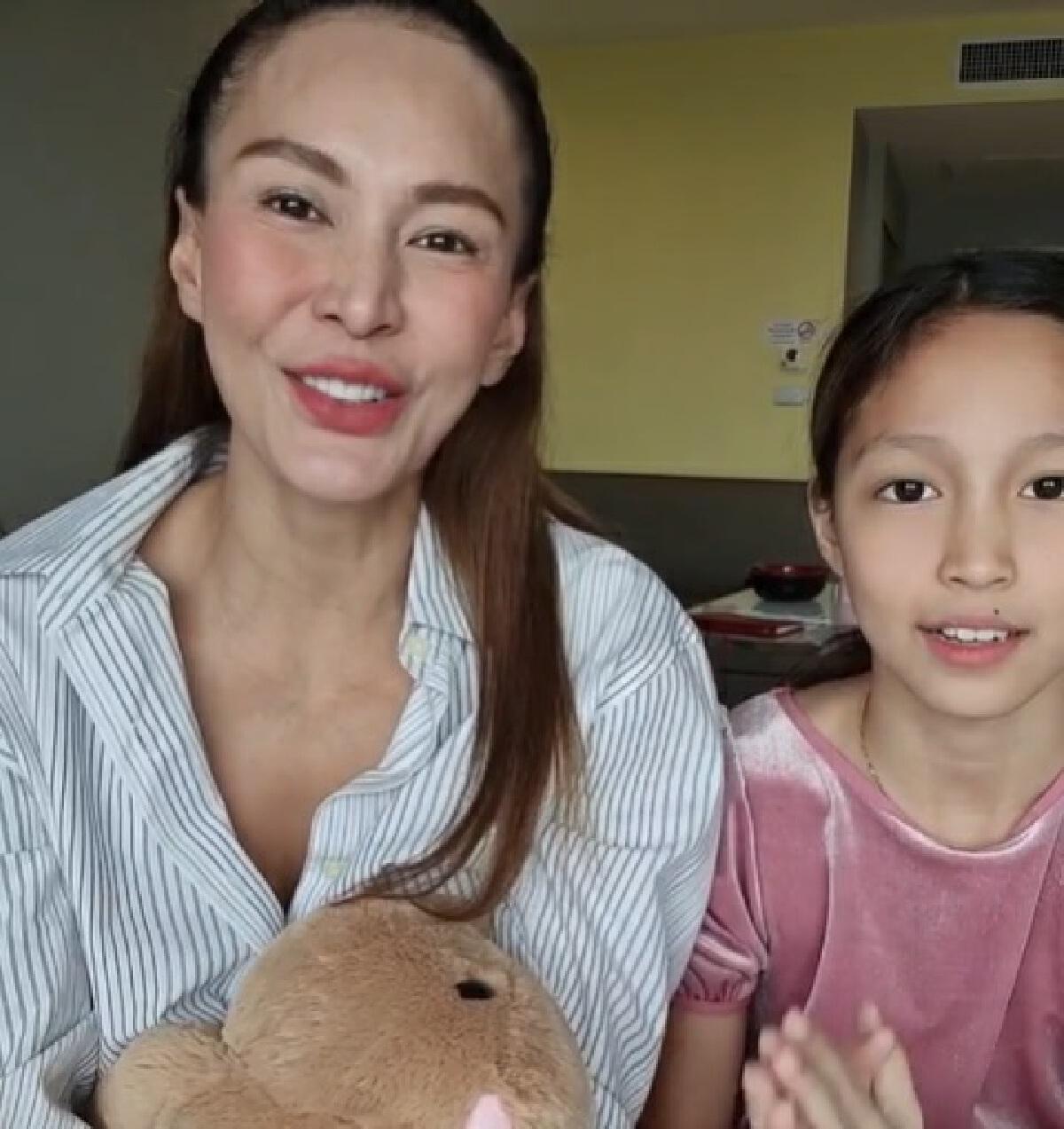 เอ อัญชลี-ลูกสาว หายป่วยโควิด กลับบ้านได้แล้ว ขอบคุณทีมแพทย์ดูแลอย่างดี