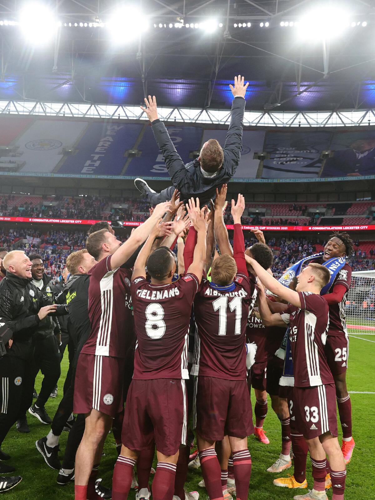 เลสเตอร์ ซิตี้ โชว์ฟอร์มเฉือนชนะ เชลซี 1-0 คว้าแชมป์ FA CUP ครั้งแรกรอบ 137 ปี