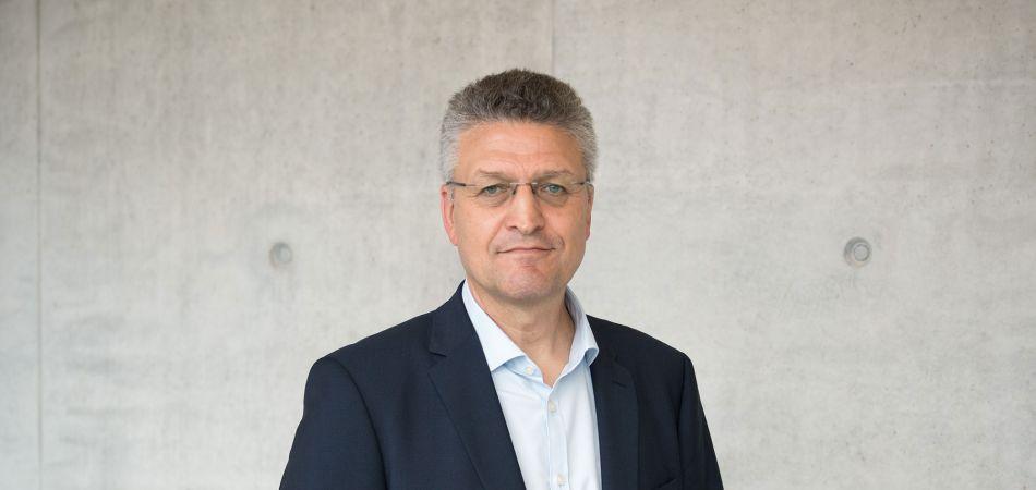 Lothar Wieler, the head of Germany's infectious disease agency Robert Koch Institute.