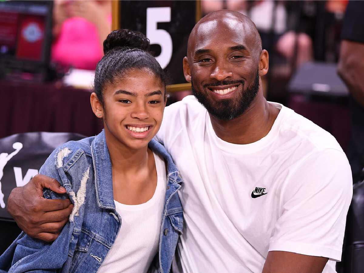 Kobe Bryant and his daughter, Gianna Bryant