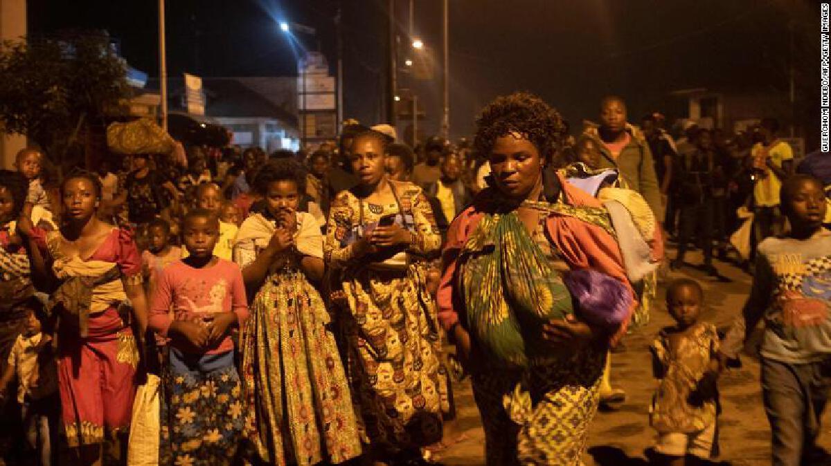 ภูเขาไฟในคองโก ปะทุขึ้นอีกครั้ง ชาวบ้านเมืองโกม่าอพยพอย่างสงบ