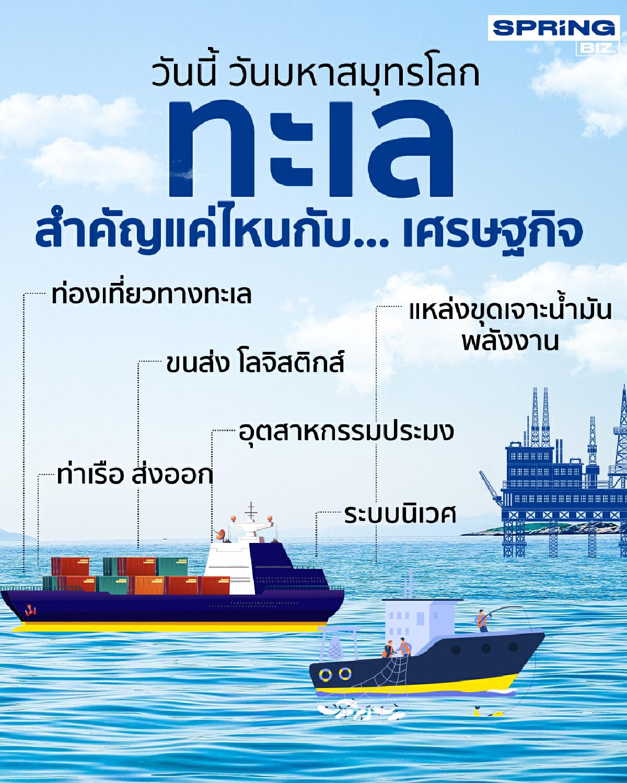 วันมหาสมุทรโลก รู้หรือไม่? ทะเลสำคัญแค่ไหนกับ...เศรษฐกิจไทย