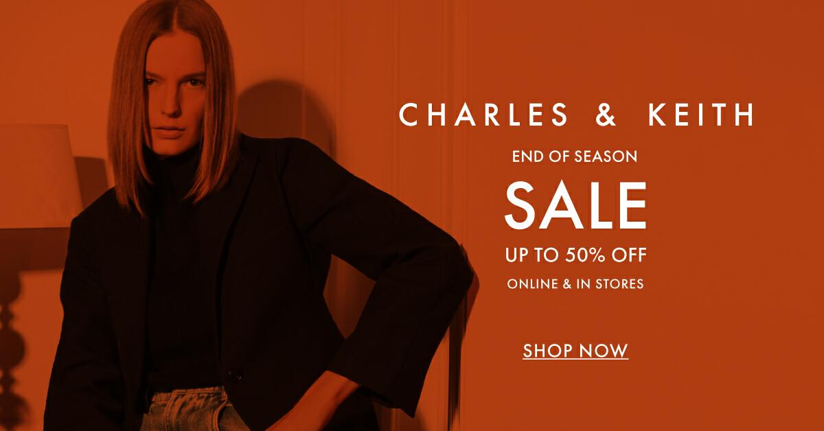 Charles & Keith End of Summer Sale ลดสูงสุด 50% พร้อมส่งฟรีทั่วประเทศ