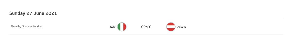 ตารางบอลยูโร 2020 วันเสาร์ 26 มิ.ย. 64 รอบ 16 ทีม โปรแกรมถ่ายทอดสด ดูบอลวันนี้