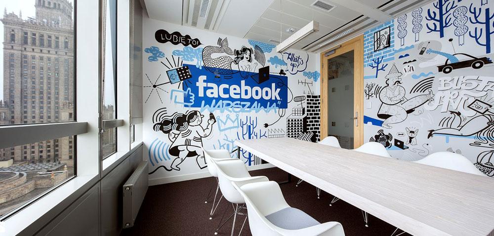 Facebook's office
