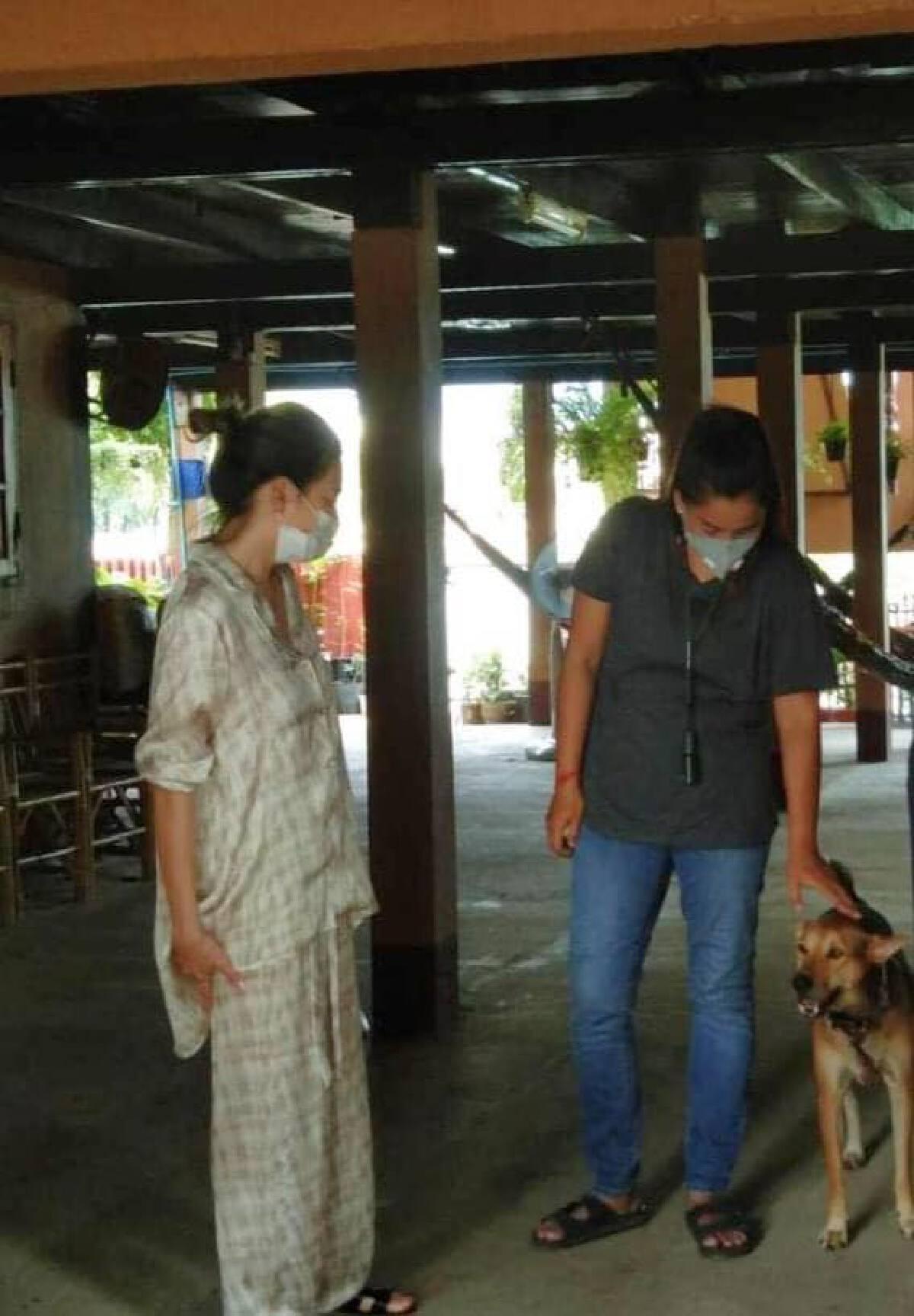 ดิว อริสรา หอบกระเช้าขอโทษชาวบ้าน เจ้าของสุนัข ปมดราม่าจุดพลุฉลองวันเกิด