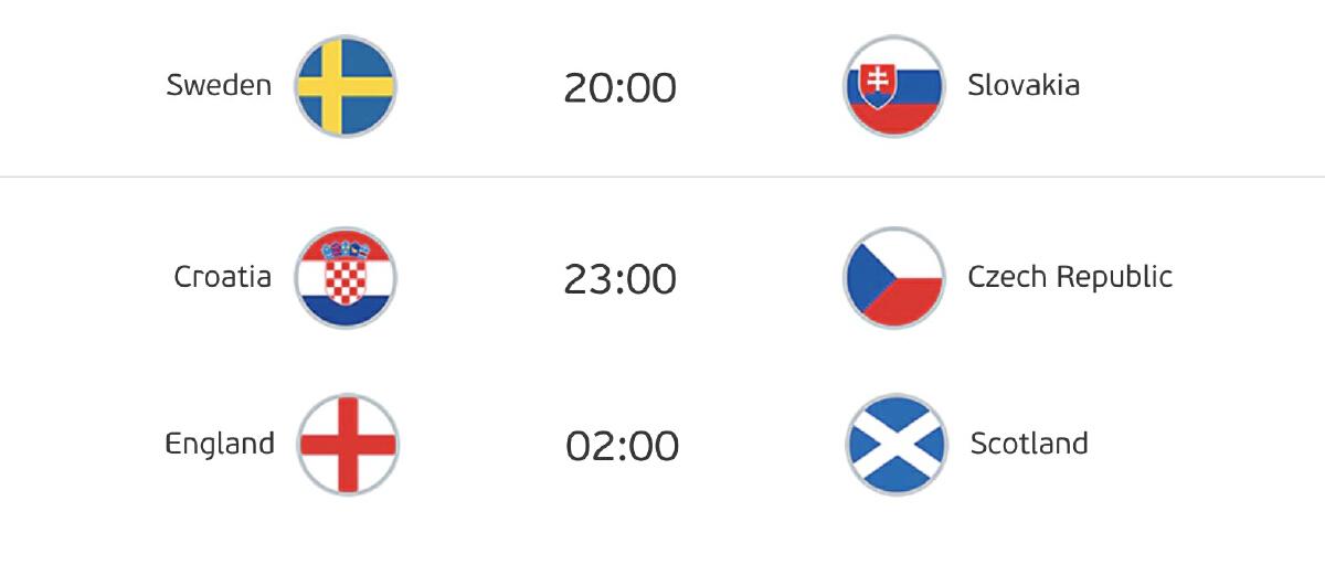 ดูบอลยูโร 2020/21 NBT2HD วันศุกร์ที่ 18 มิ.ย. 64 บิ๊กแมตช์ อังกฤษ - สก็อตแลนด์