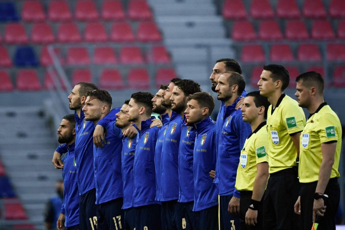 อิตาลี 2 - 0 ตุรกี