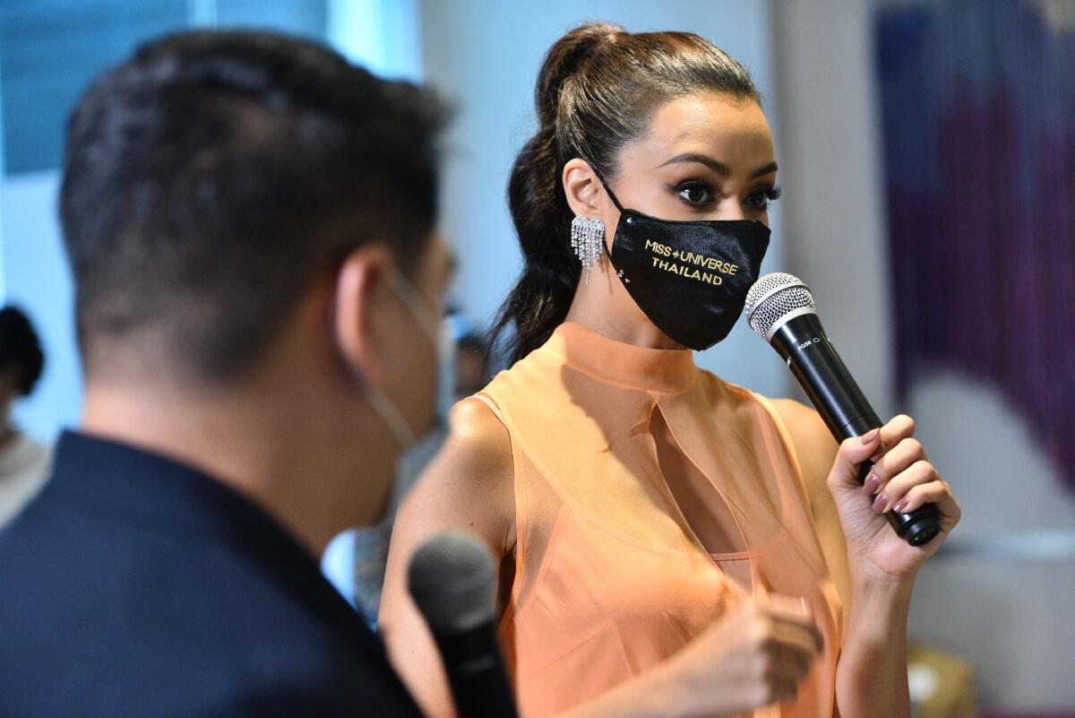 อแมนด้า ออบดัม มิสยูเวิร์สไทยแลนด์ 2020 เปิดใจหลังกักตัวครบ 14 วัน