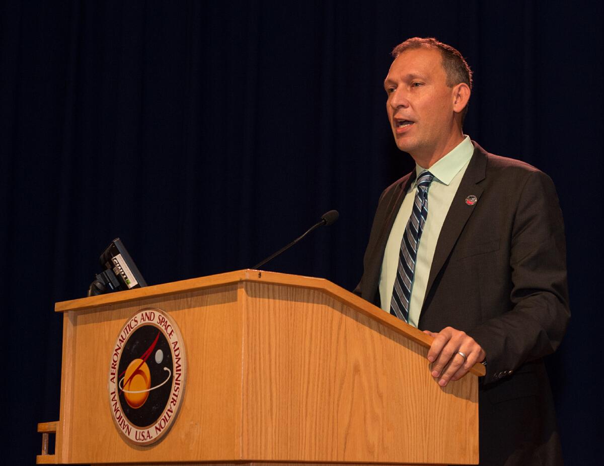 Thomas Zurbuchen, NASA's associated administrator for science