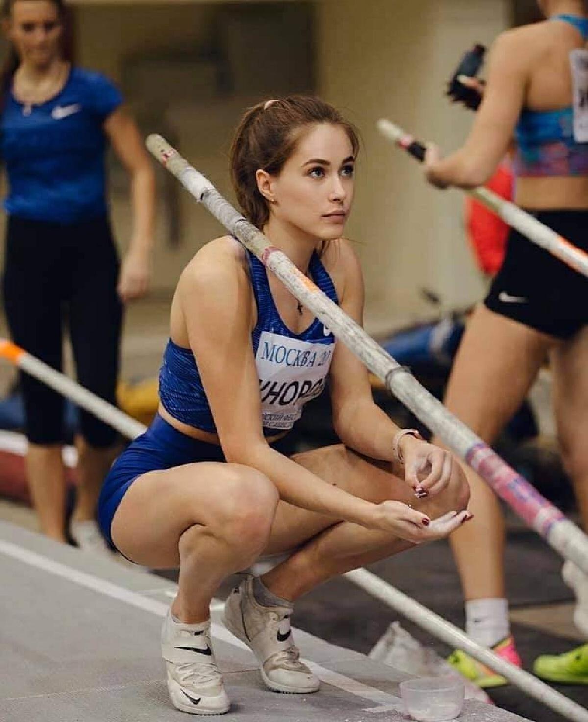 เปิดวาร์ป Polina Knoroz นักกีฬาสาวสวยโอลิมปิก 2020 (อัลบั้มภาพ)