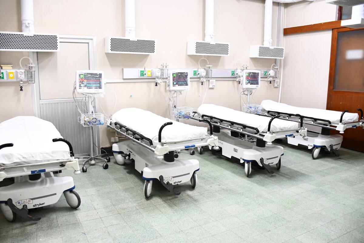 รพ.ราชวิถี เพิ่มห้องฉุกเฉินโควิดส่วนต่อขยายรองรับผู้ป่วยอีก 20 เตียง