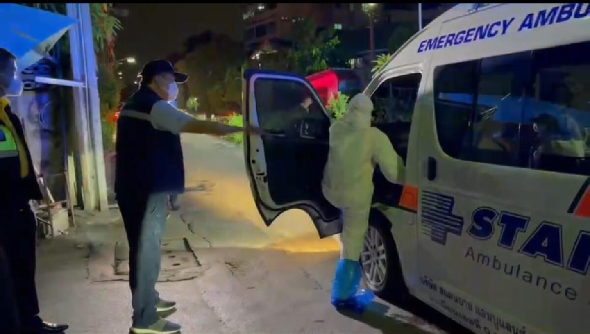 อนุทิน ลุยเอง! ดูผู้ป่วยโควิดส่งรพ. รับนโยบายนายกฯต้องไม่มีคนตายข้างถนน