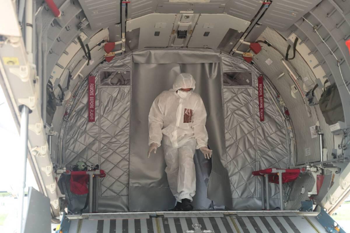 ทบ. ส่งเครื่องบินคาซ่า ช่วยขนย้ายผู้ป่วยโควิด-19 กลับภูมิลำเนาห่างไกล
