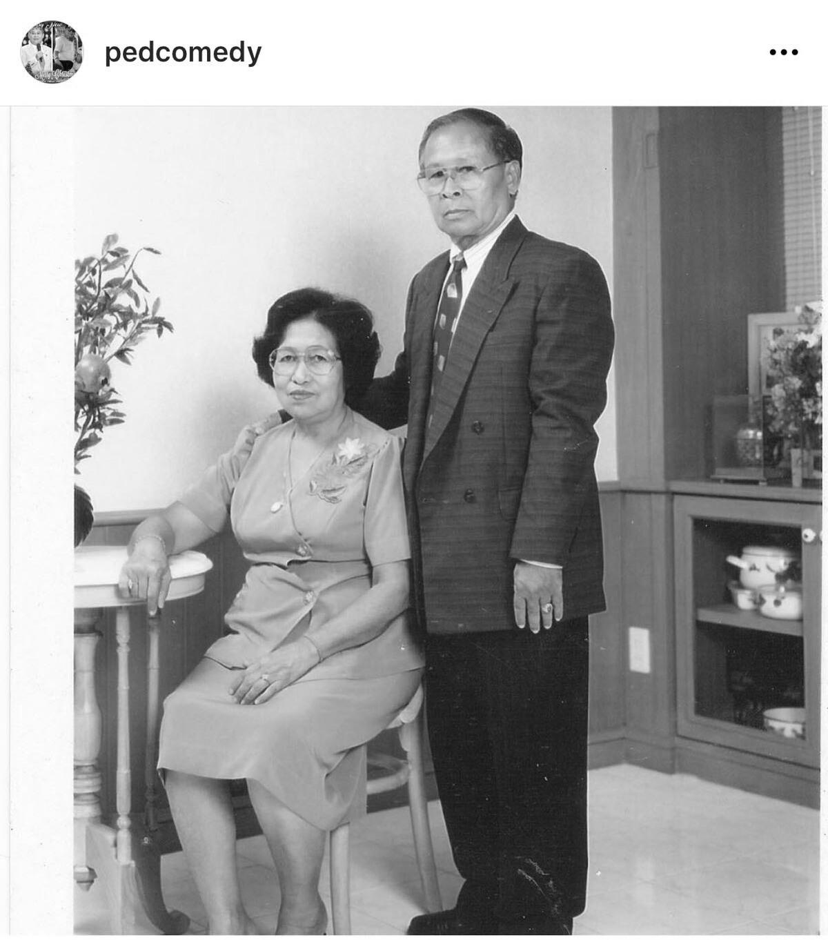 เป็ด เชิญยิ้ม สุดเศร้าอีกครั้ง คุณพ่อ วัย 93 ปี เสียชีวิตจากโควิด-19