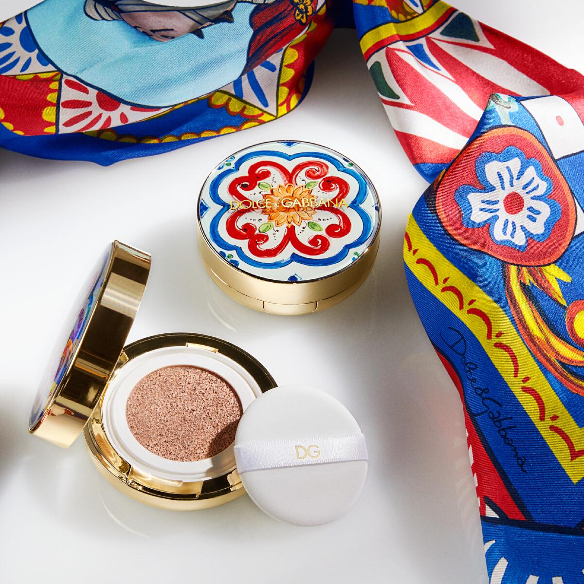 Dolce&Gabbana Solar Glow Healthy Glow Cushion Foundation SPF50 PA +++