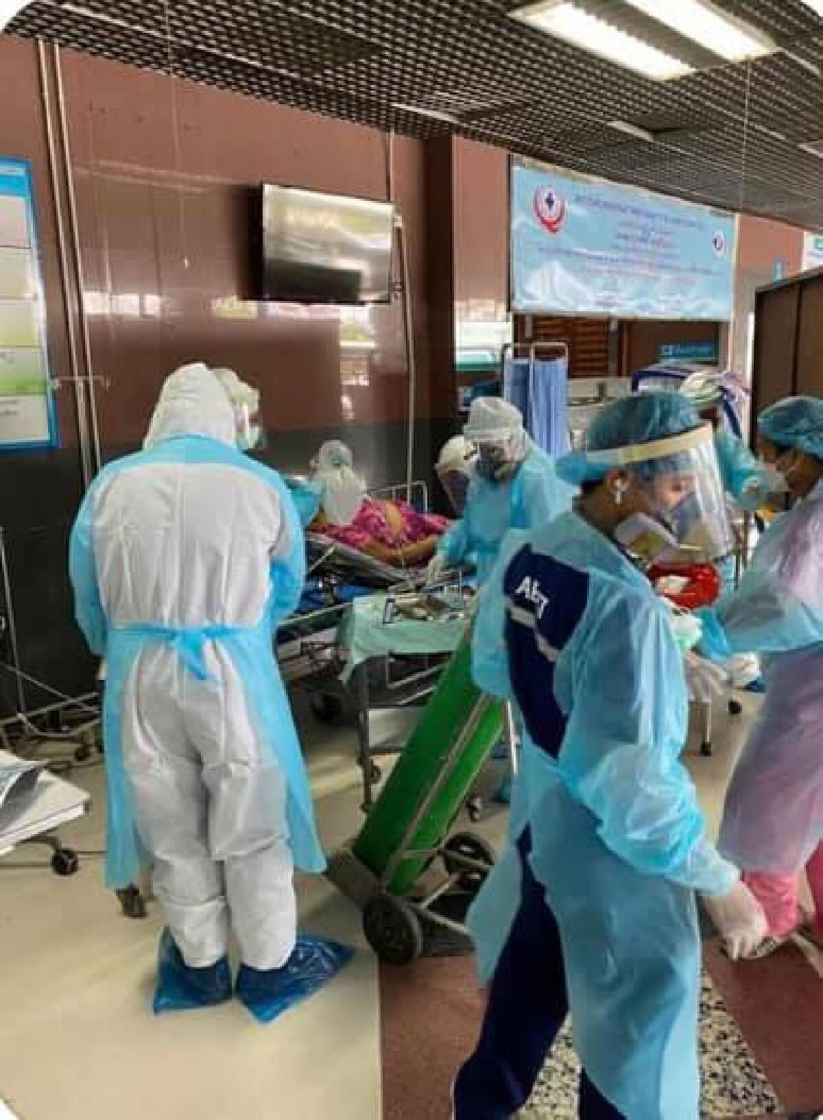 หมอด่านหน้า เผยปัญหา อุปกรณ์ป้องกันตัวเริ่มขาด หลังผู้ป่วยเพิ่มสูงขึ้น