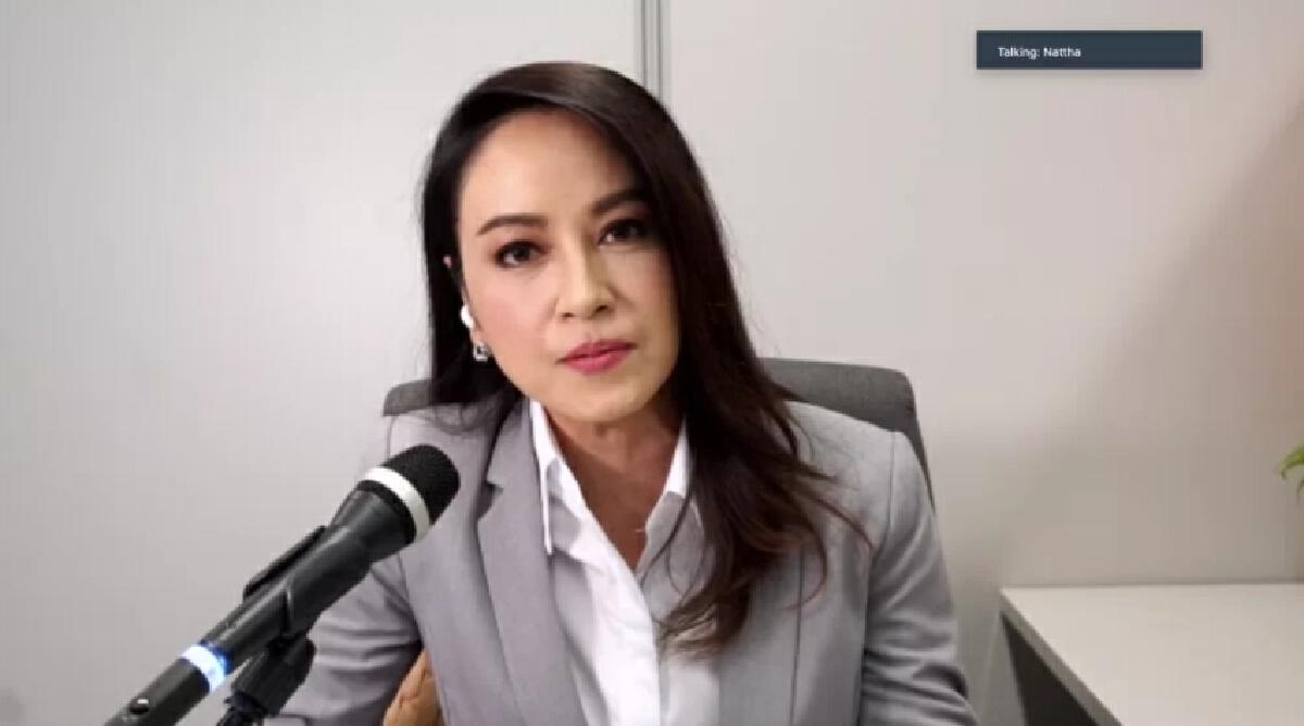ดร.ณัฏฐา  โกมลวาทิน  ผู้ประกาศข่าวและผู้อำนวยการศูนย์ Thai PBS World