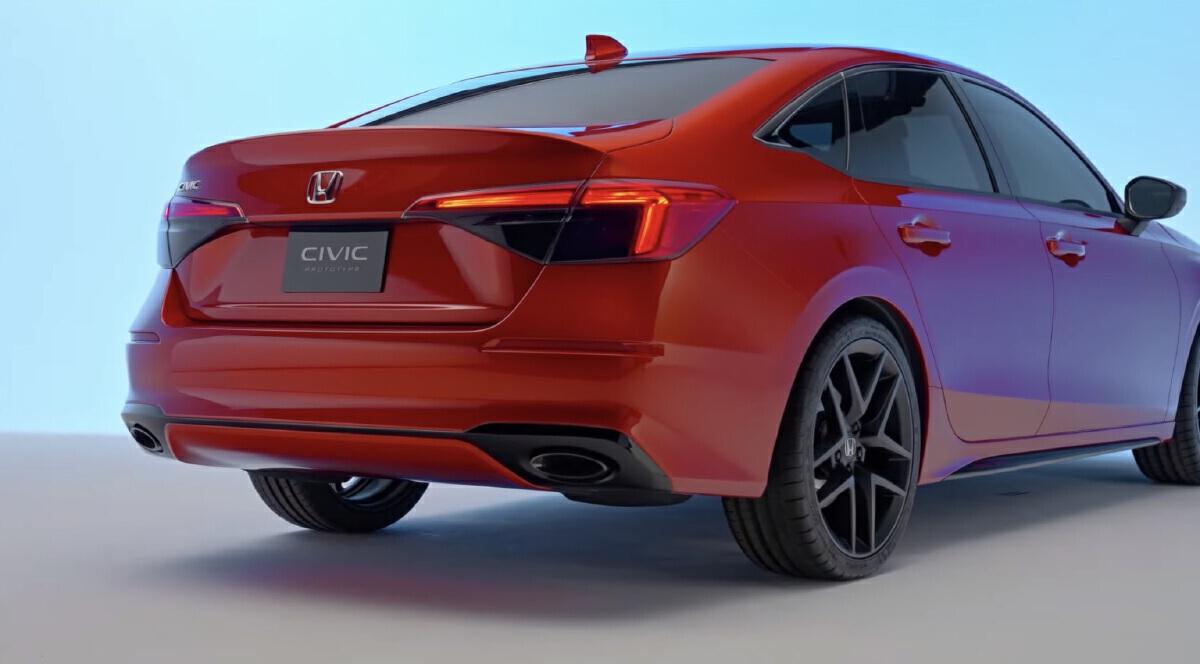 All-New Honda Civic 2021/2022 เปิดตัว 6 ส.ค. 64 ราคา ตารางผ่อน ฮอนด้า ซีวิค