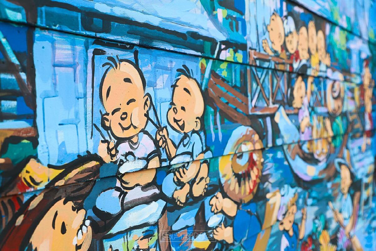 Street Art คลองเปรมประชากร