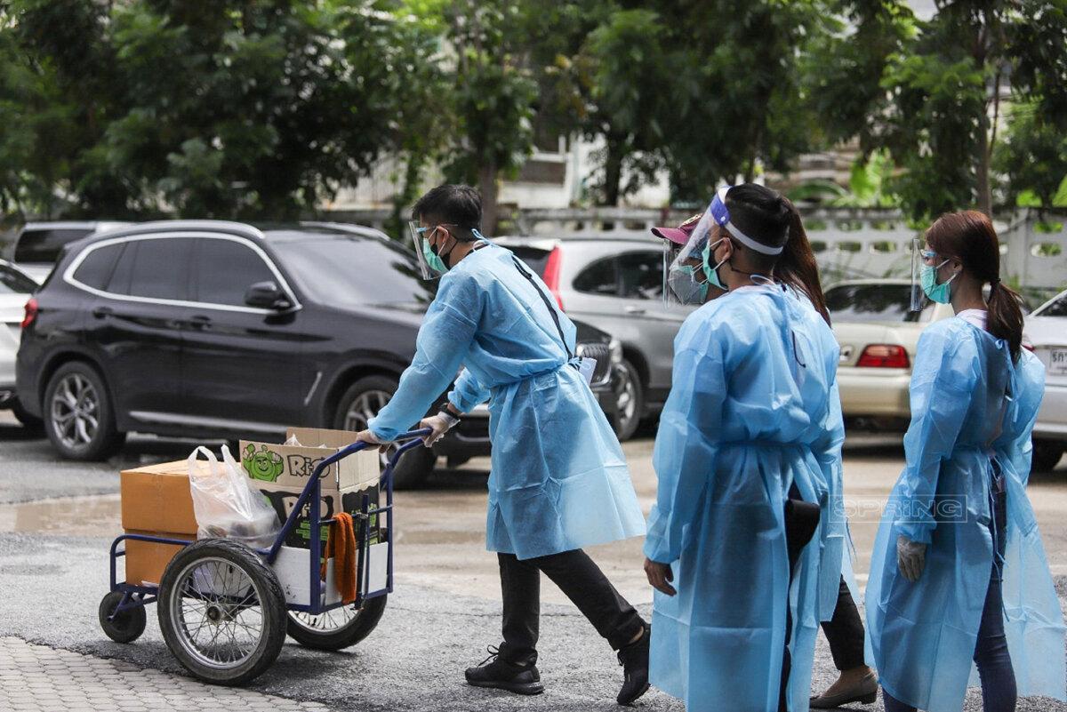 ร่วมขับเคลื่อน ครัวปันอิ่ม ช่วยเหลือชุมชนรอบกระทรวงสาธารณสุข สู้ภัยโควิด