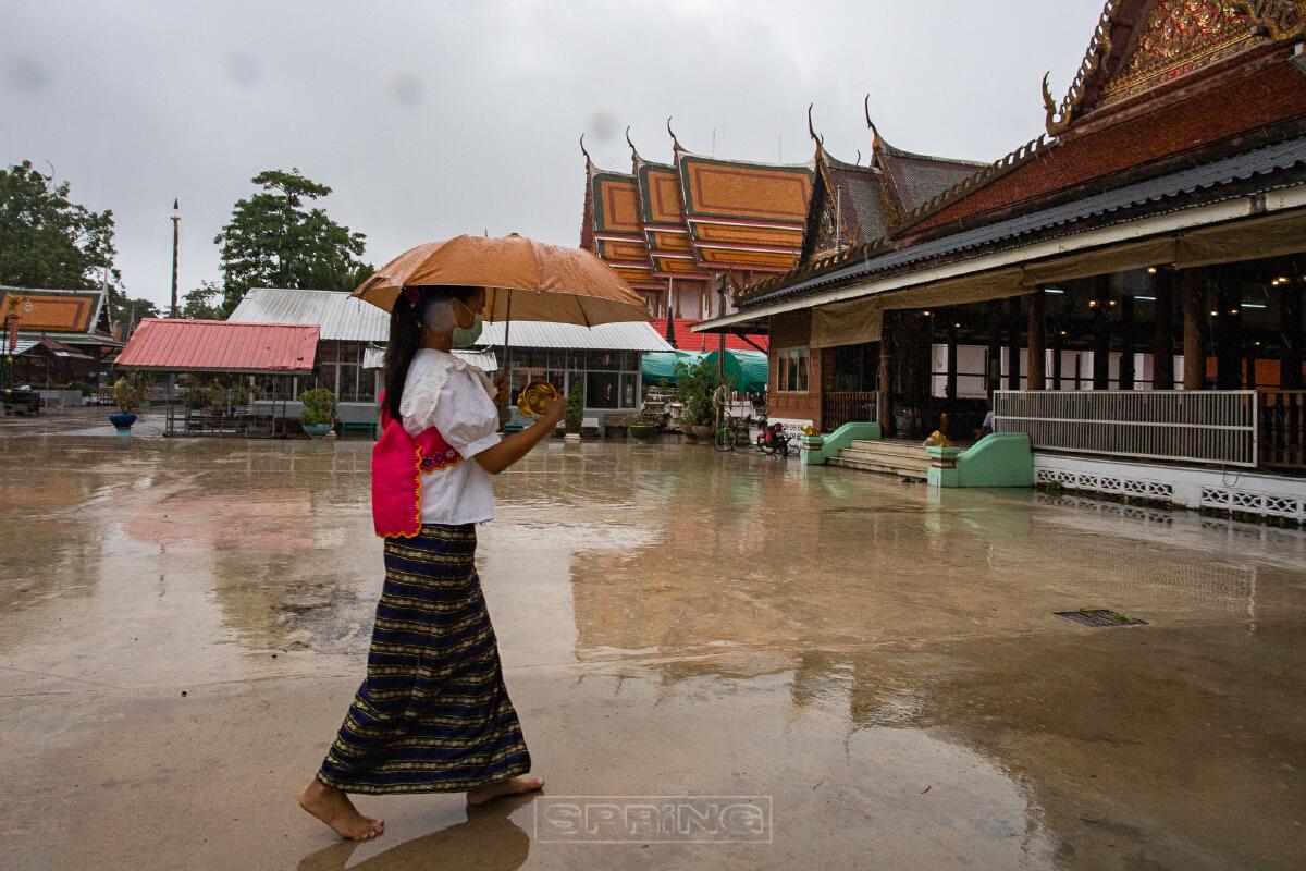 ตักบาตรน้ำผึ้ง คติความเชื่อของชาวไทยเชื้อสายมอญ เกี่ยวกับยารักษาโรค