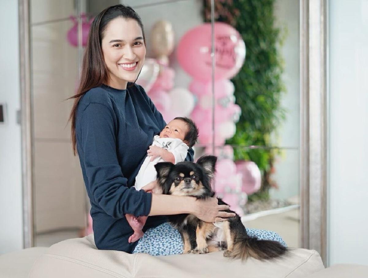 หยาดทิพย์ ราชปาล รีวิวการเป็นคุณแม่ 1 เดือน น้องเมย่า ทำชีวิตเปลี่ยนไป