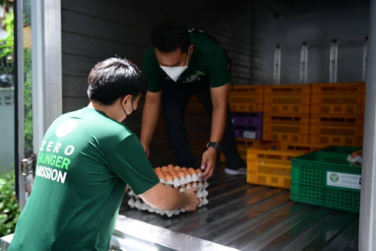 """""""ซีพีเอฟ"""" จับมือSOS - GEPP ส่งอาหารปลอดภัย ช่วยกลุ่มเปราะบาง"""
