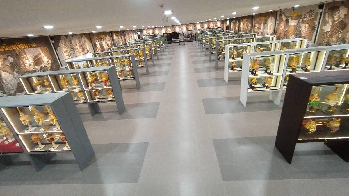 """""""พิพิธภัณฑ์หัวโขน"""" แห่งแรกของโลก สวนนงนุชพัทยา วิจิตรตระการตา ถึง 506 เศียร"""