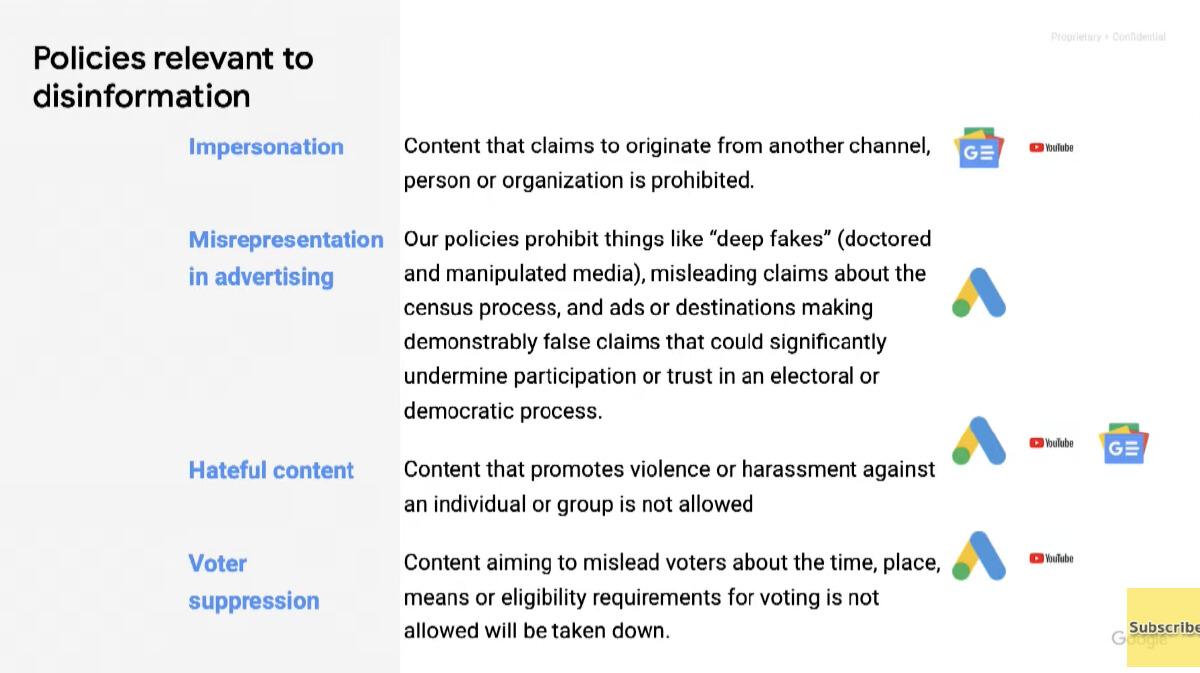 policies google