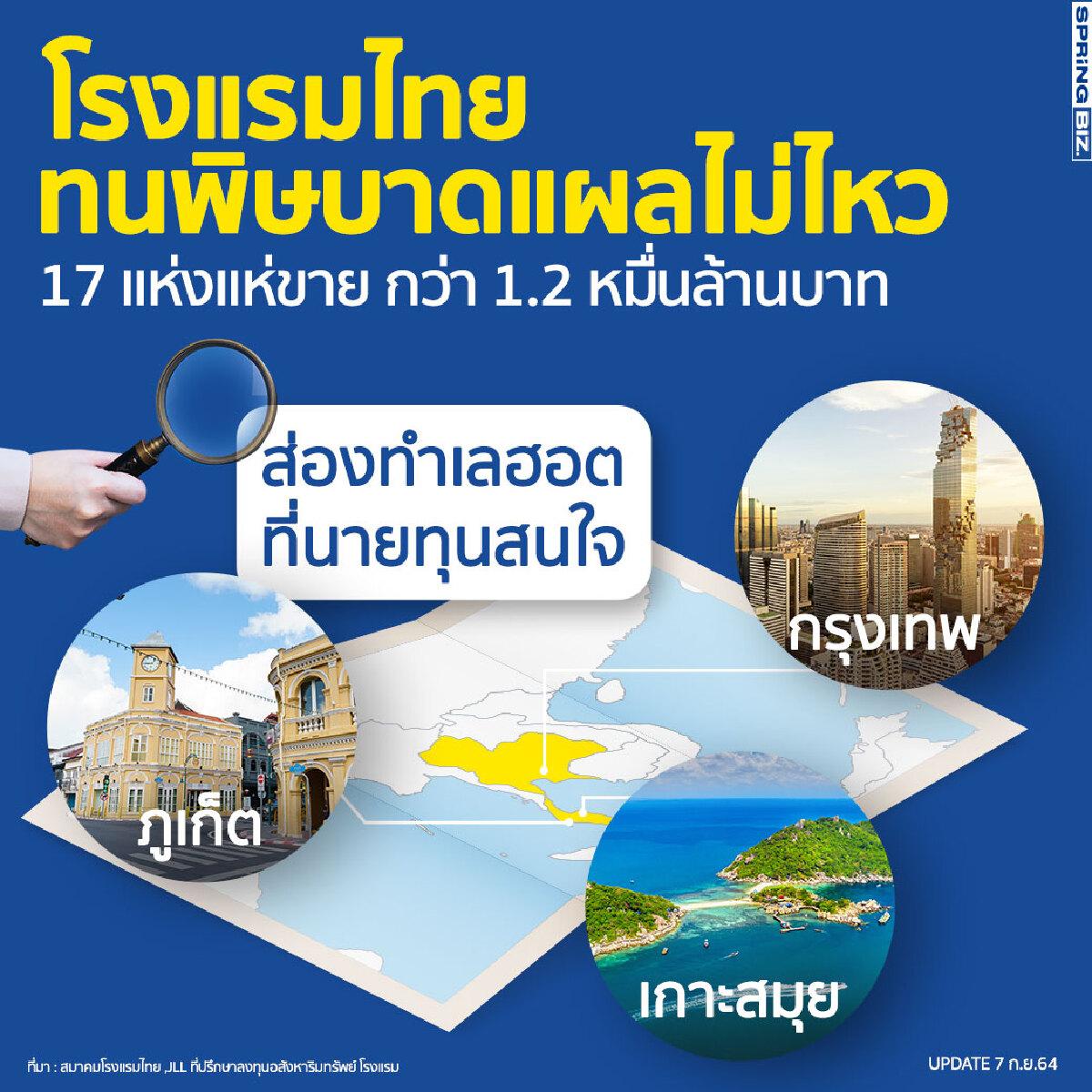 ชะตากรรมโรงแรมไทย